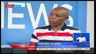 Kinyang'anyiro 2017: Darubini ya Siasa; Muwania useneta Laikipia-Maina Njenga pt 2