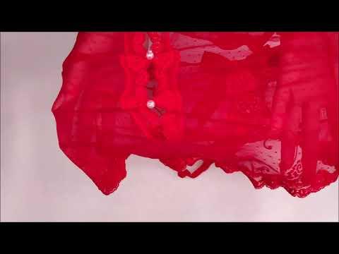 Pikantní body Fiorenta teddy red - Obsessive