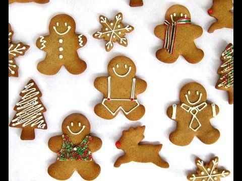 Cómo hacer galletas para Navidad / Galletas navideñas / Postres Navideños