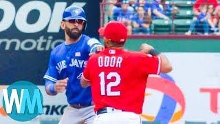 Top 10 Baseball Freak-Outs