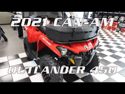 2022 Can-Am Outlander MAX DPS 450 in Enfield, Connecticut - Video 1