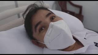 Enfermera guatemalteca vacunada llama a los chapines a vacunarse