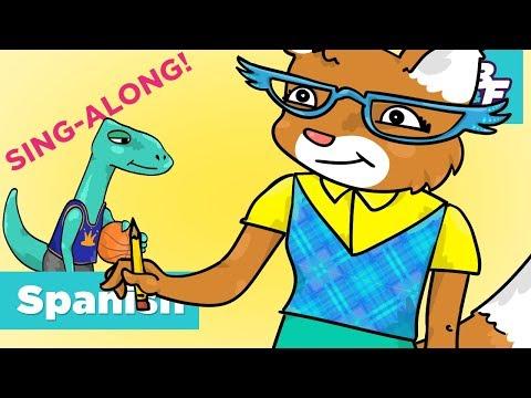 Learn Classroom Vocabulary In Spanish Sing-Along Song   BASHO & FRIENDS 4k Learning   Hora de jugar