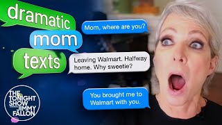 AllisonJanney and Jimmy Reenact Dramatic Mom Texts | The Tonight Show