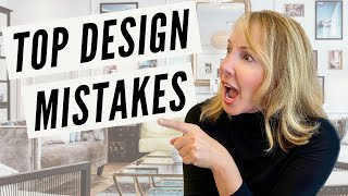 Top INTERIOR DESIGN MISTAKES You're Making and How to Fix Them