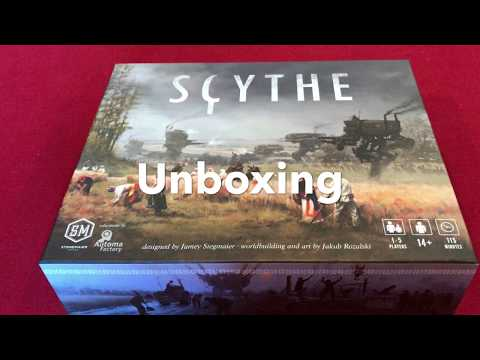 Unboxing Scythe by Meeples on Meeples