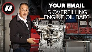On Cars - Your Email: How to fix too much oil in your engine