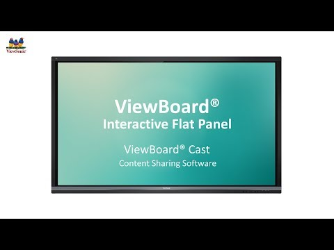 ViewSonic Presentation Software ViewBoard® Cast