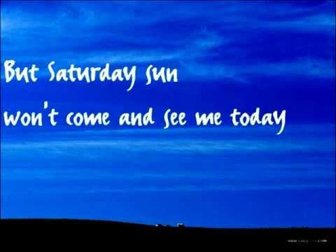 Saturday Sun (with lyrics) Nick Drake