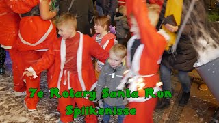 7e Rotary Santa Run Spijkenisse