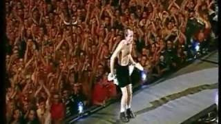AC DC - Bad Boy Boogie (Angus Strip) - Olympiapark München