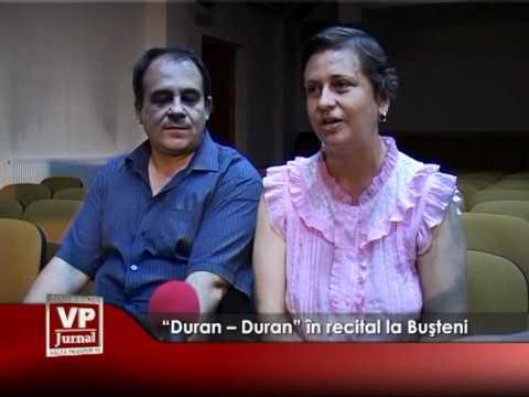 """""""Duran – Duran"""" in recital la Busteni"""
