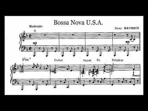 Dave Brubeck - Bossa Nova U.S.A. (transcription)