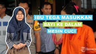 WOW TODAY: Ibu di Palembang Tega Masukkan Bayinya ke Mesin Cuci