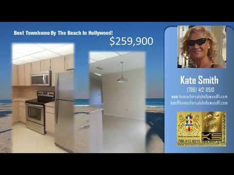 Townhomes for sale Hollywood FL