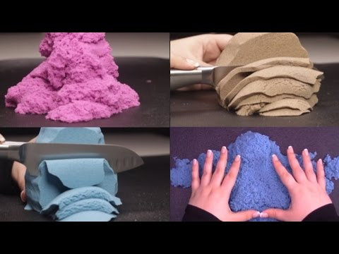 Extremely Satisfying ASMR:  Binaural Kinetic Sand Play For Relaxation, Tingles, And Sleep