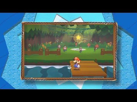 Видео № 0 из игры Paper Mario: Sticker Star [Nintendo Selects] (Б/У) [3DS]