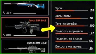Tavor SNR возвращается в warface, Новые характеристики Tavor SNR варфейс
