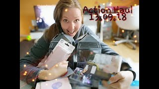 Action HAUL 13.09.18 { Mini Kamin, Powerbank, Basteln etc. } !