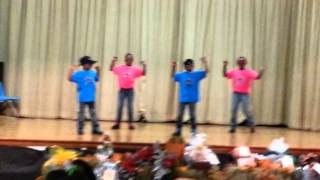 KIDS DANCING TO J MOSS IMMA DO IT