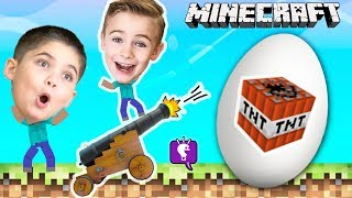 MINECRAFT TOY EGGS COMPILATION and Surprises by HobbyKidsTV