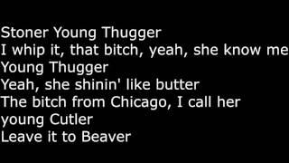 Young Thug  -Check On Screen Lyrics