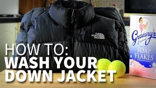 How To Wash Your Down Jacket