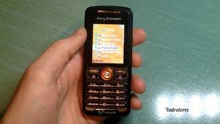 Sony Ericsson W200 retro review (old ringtones, themes, tetris game...)