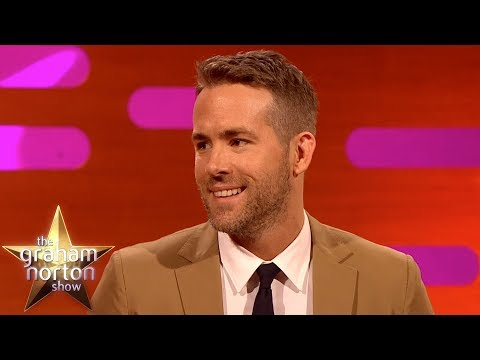 Ryan Reynolds o začátcích Deadpoola - The Graham Norton Show