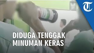Viral Video Seorang Siswa Diduga Tenggak Miras saat Jam Pembelajaran, Teman Sebangku Tertawa