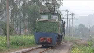 preview picture of video 'China Shawan Mojiang Coal Narrow Gauge Railway Train Video 中国四川省沙湾ナローゲージ鉄道 沫江煤電'