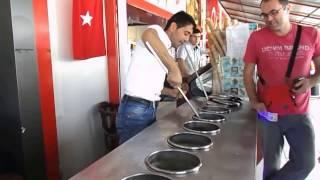 Верю не верю. Так продают  и обманывают при этом мороженое в Турции