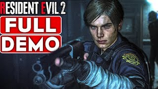 RESIDENT EVIL 2 REMAKE Gameplay Walkthrough Part 1 FULL DEMO [1080p HD 60FPS PS4] - No Commentary