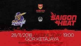 ABL9 || Away Game 1: CLS Knights vs Saigon Heat 28/11 | Full Game Replay