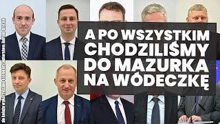 Politycy zamiast siedzieć w sejmie, poszli na imprezę do redaktora Roberta Mazurka!