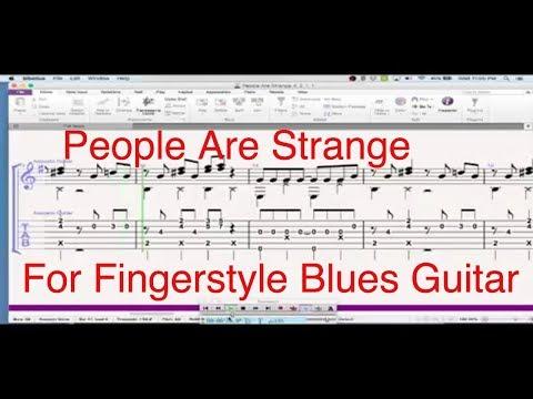 Doors The People Are Strange GUITAR TAB - World Music Tablature