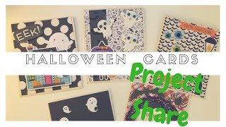 Halloween Series : Spooky Handmade Cards 🎃
