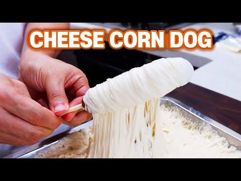 How To Make Cheese Corn Dog Korean Street Food l Better Than Restaurants