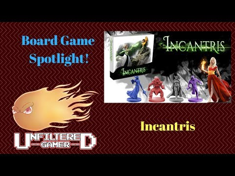 Unfiltered Gamer - Incantris - Board Game Spotlight + Review