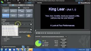 How to Produce (Render/Export) a Video in PowerDirector 12