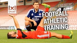 Football Athletic Training – Strength and Fitness Drills of a German Pro Club