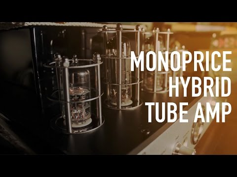 Monoprice Stereo Hybrid Tube Amp with Bluetooth & Speakers – Review