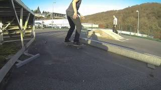 preview picture of video 'Session skate park de tulle ( test )'