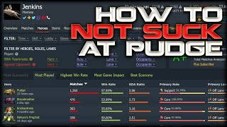 Dota 2: Pudge Spammer Explains How to Stop Being Terrible at Pudge | Pro Dota 2 Guides