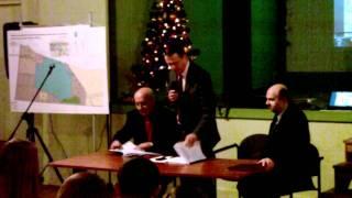 preview picture of video 'Tłuszcz: spotkanie ws. zbiornika retencyjnego (2012.01.26)'