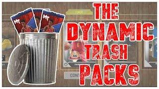 THE DYNAMIC TRASH PACKS!!! - NBA 2K16 MyTEAM Pack Opening | MyTEAM