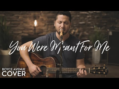 You Were Meant for Me Jewel Acoustic Cover
