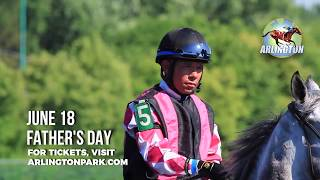 This Father's Day the horses will mow the lawn Treat dad to a great day at Arlington: