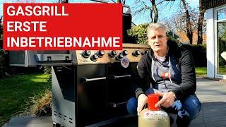 ♨️ GRILLBLITZ: Gasgrill Erstinbetriebnahme Ausbrennen Grill erste Inbetriebnahme Anleitung Tutorial