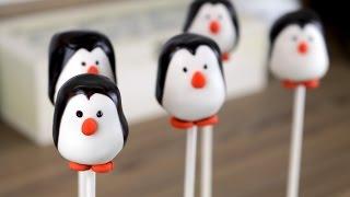Easy Penguin Cake Pops | CarlyToffle